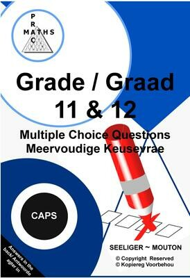 Gr 11 & 12 Multiple Choice / Meervoudige Keusevrae PDF