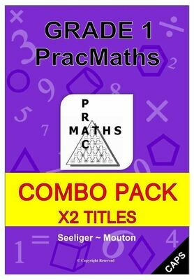 Grade 1 Mathematics Books + Memos