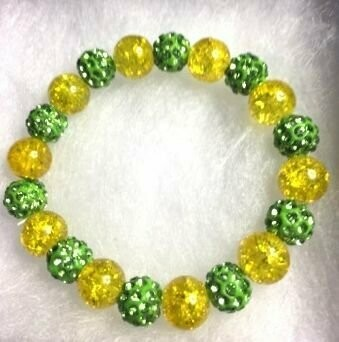 County Coloured Beaded Bracelet