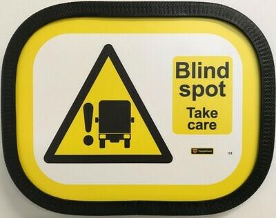 Blind Spot Sign Half Horizontal