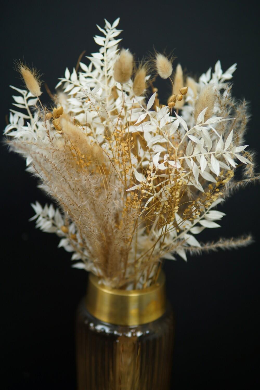 Trockenblumen Strauss | Care for you | natur oder rosa