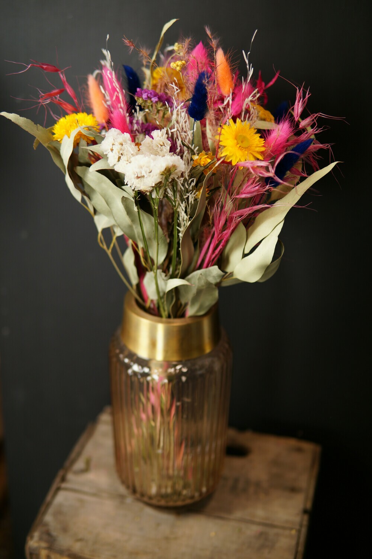 Trockenblumen Strauss | Colour Pop