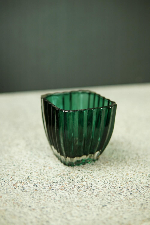 Teelicht   Dunkel-Grün
