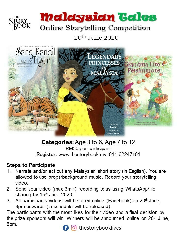 Malaysian Tales Online Storytelling Competition