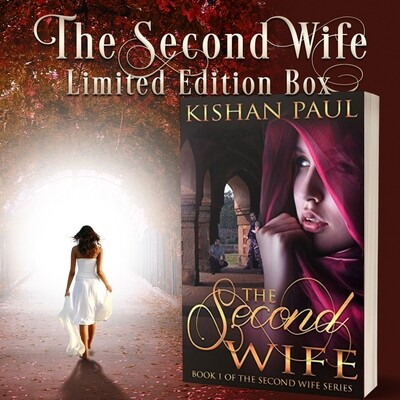 The Second Wife Series box with signed Paperback