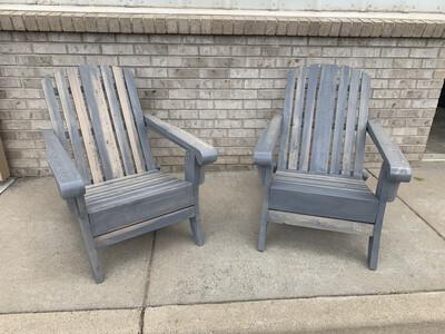 Beetle Kill Adirondack Chair