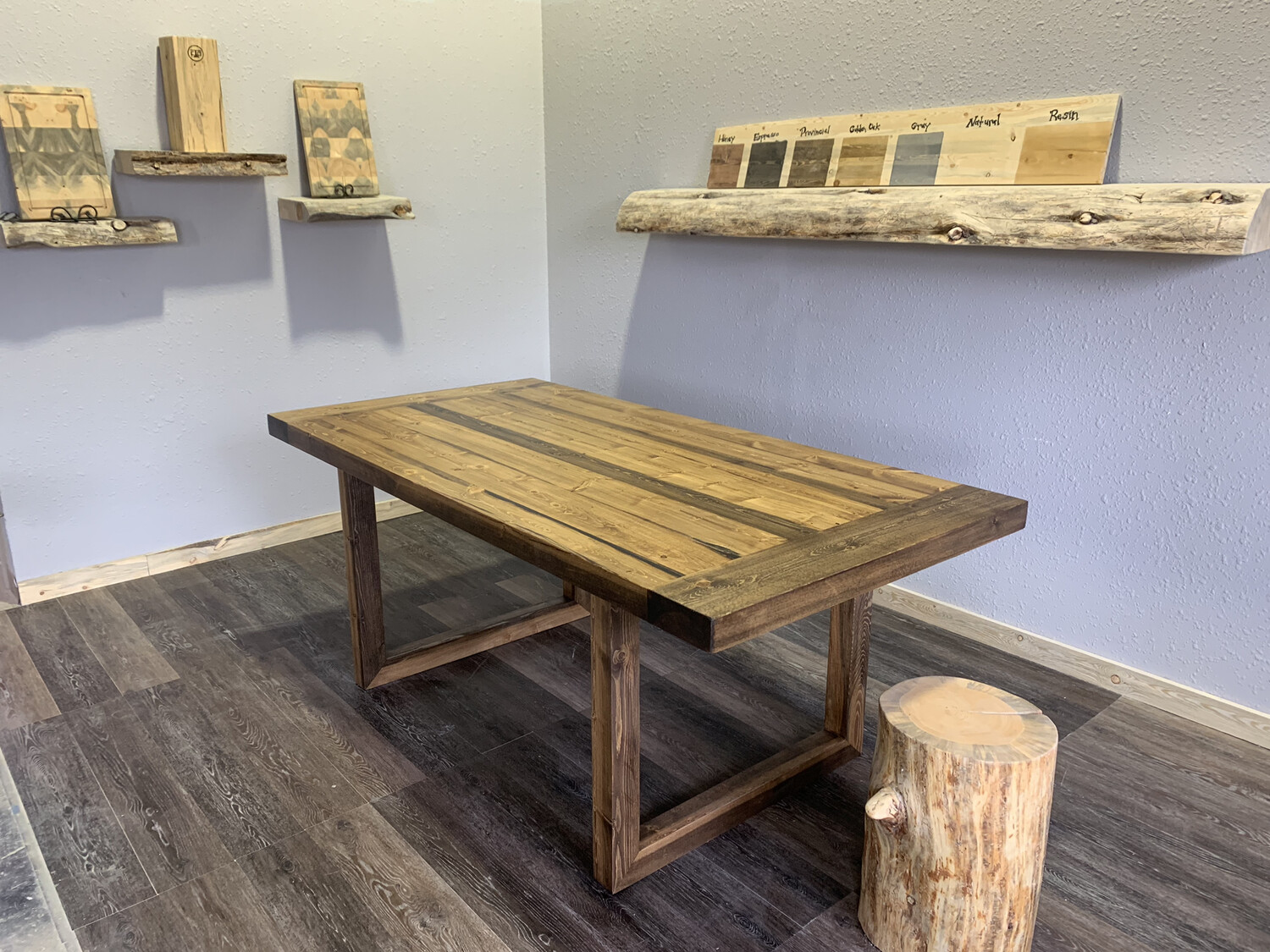 Canyon Beetle Kill Dining Table