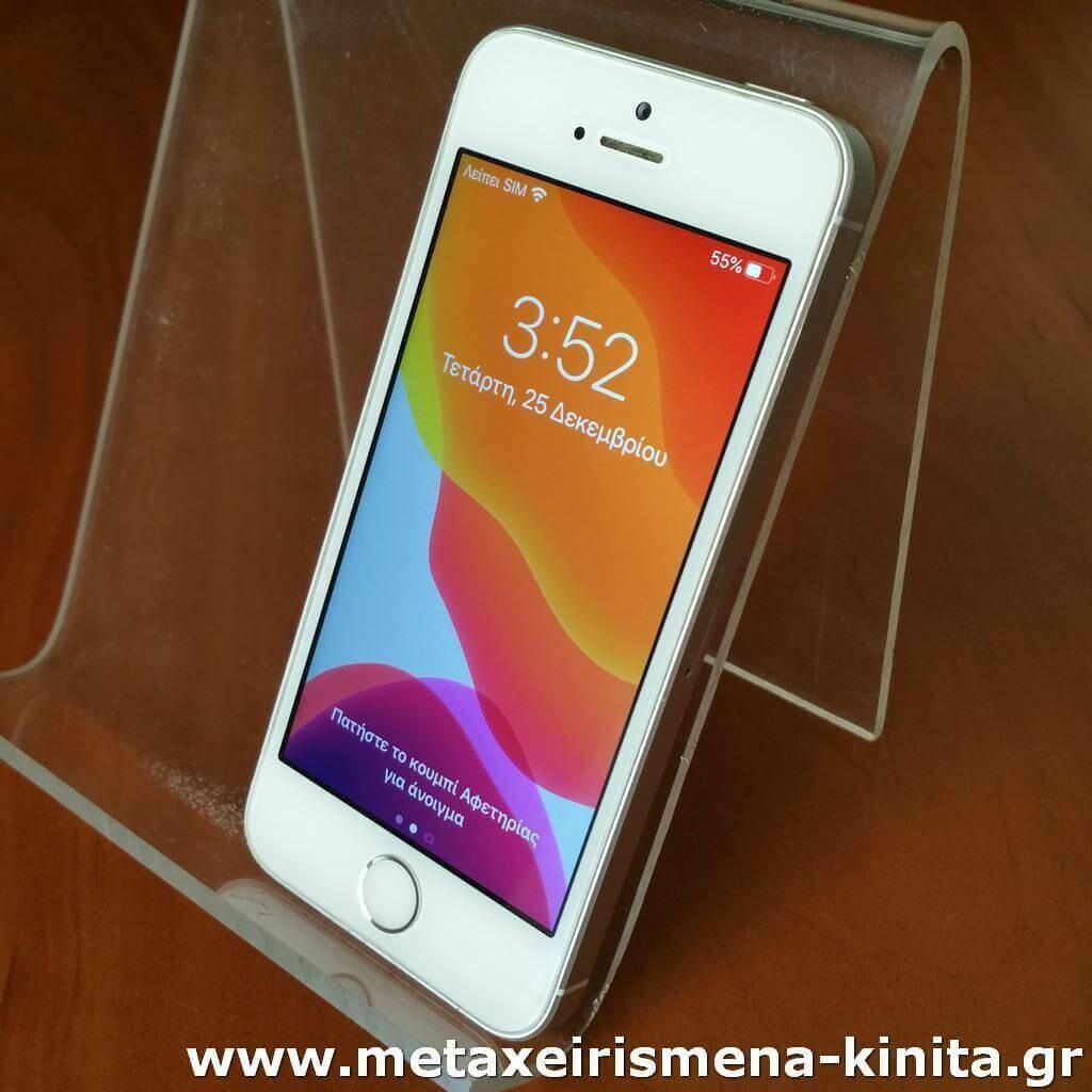 iPhone SE 16GB 91% υγεία μπαταρίας