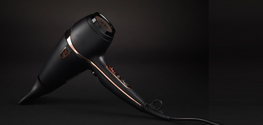 GHD Air Rose Gold Hairdryer Gift Set