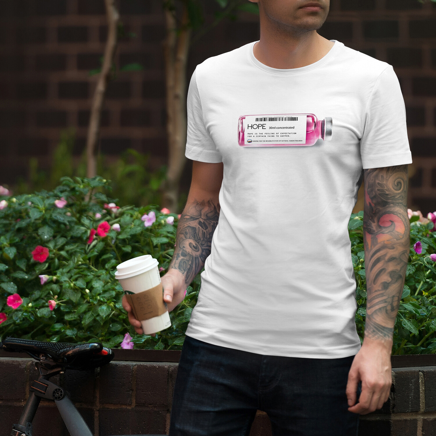 """Hope"" Men's T-Shirt"