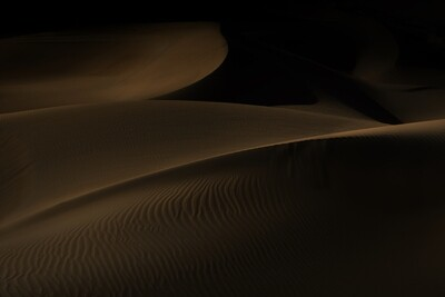 THE EMPTY QUARTER on Alu-Dibond or Plexiglas