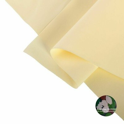 2мм 60х70см Иранский Фоамиран - Античный Белый