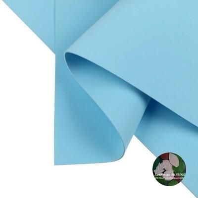 2мм 60х70см Иранский Фоамиран - Пыльно голубой