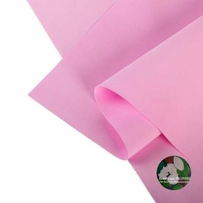 2мм 60х70см Иранский Фоамиран - Темно розовый