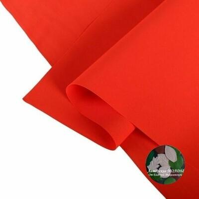 2мм 60х70см Иранский Фоамиран - Красный