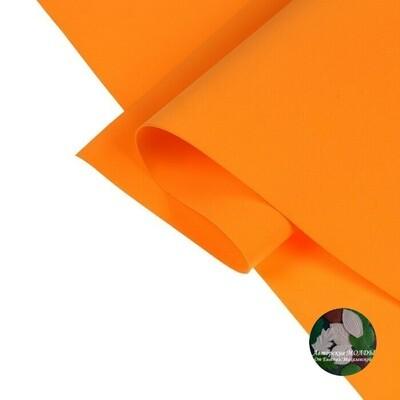 1мм 60х70см Иранский Фоамиран - Оранжевый