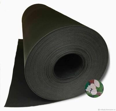 Изолон 2мм - Черный ширина 75см