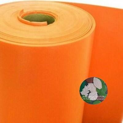 Изолон 2мм - Оранжевый ширина 75см