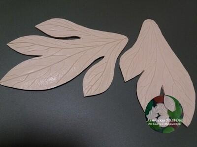 Молды Пиона 34х25см и 29,5х17см Комплект