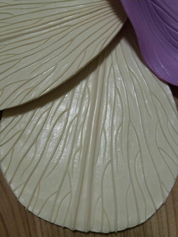 Молд Лепестка Универсальный 21,5×16см см - частая тонкая прожилка