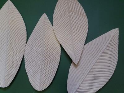 Молд Лист Спатифиллума 31×14,5см