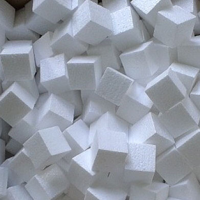 Заготовка из Пенопласта Кубик 3.5х3.5см