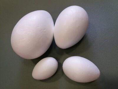 Заготовка из Пенопласта Яйцо 6х4см