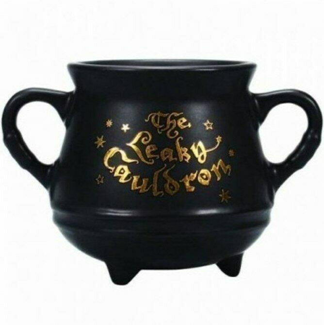 Taza 3D Calderon Mini Harry Potter Leaky Cauldron