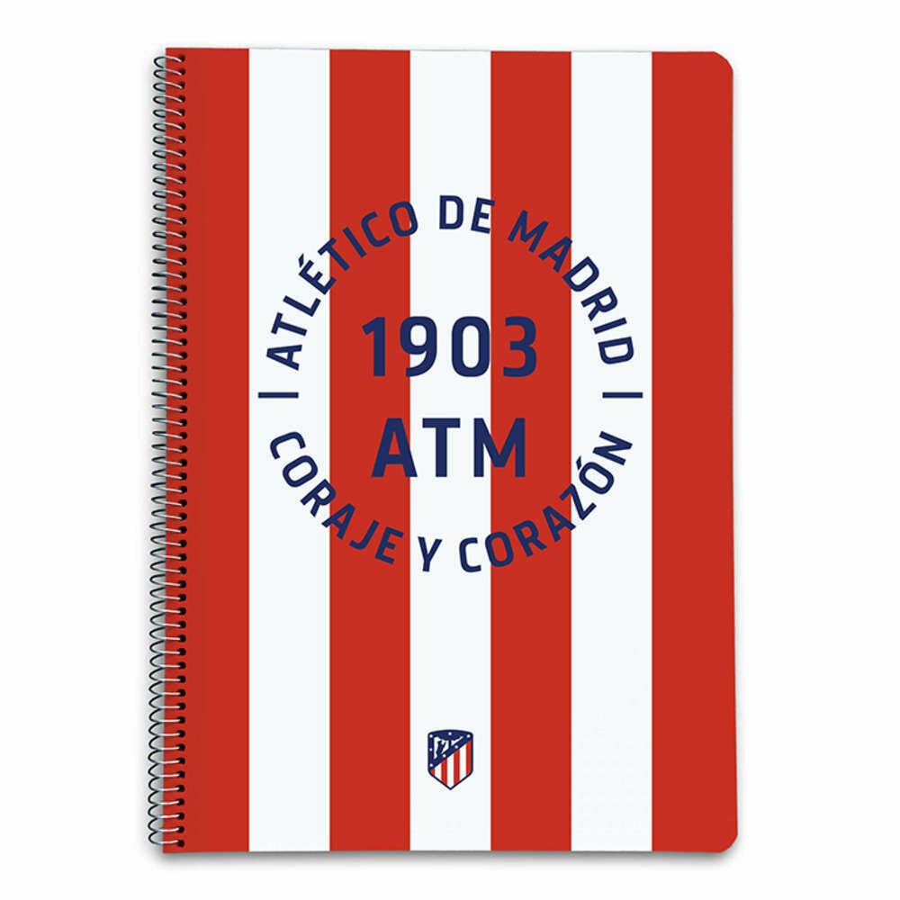 Cuaderno Atlético de Madrid