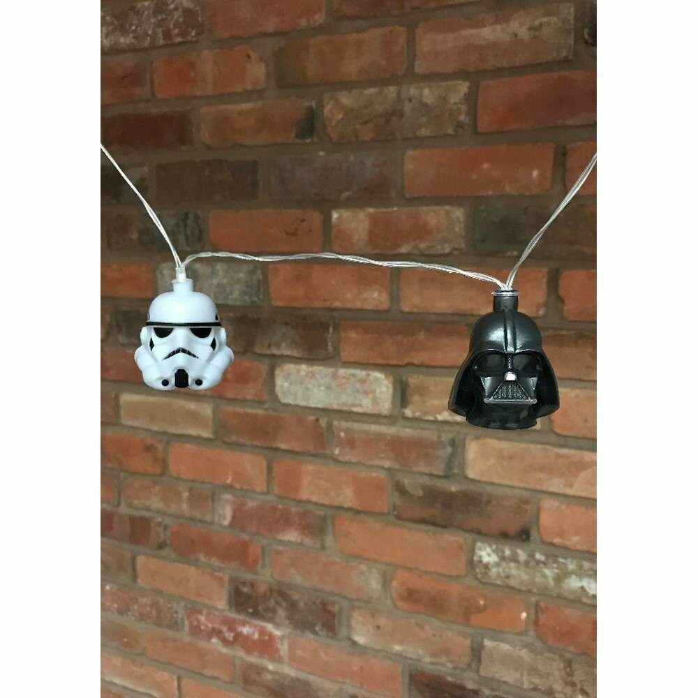 Guirnalda Luces Star Wars Stormtrooper y Darth Vader