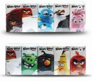 Pañuelos de Papel Angry Birds