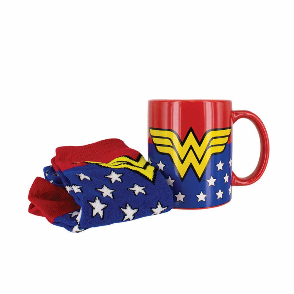 Set Regalo Taza y Calcetines DC Comics Wonder Woman