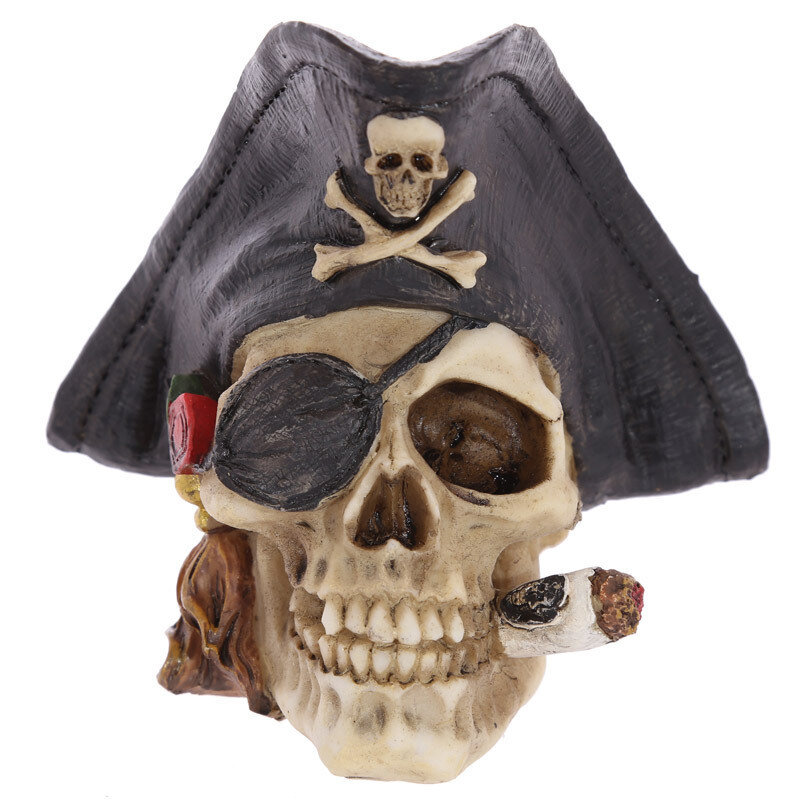 Calavera Gorro Pirata Mediana