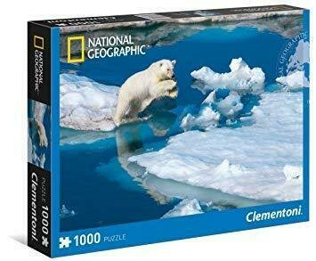 Puzzle National Geographic 1000 Piezas Oso