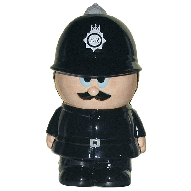 Hucha Policía Inglés