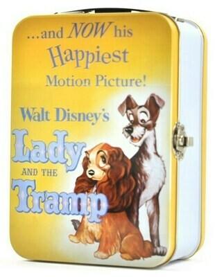 Caja Metálica Disney La Dama Y El Vagabundo