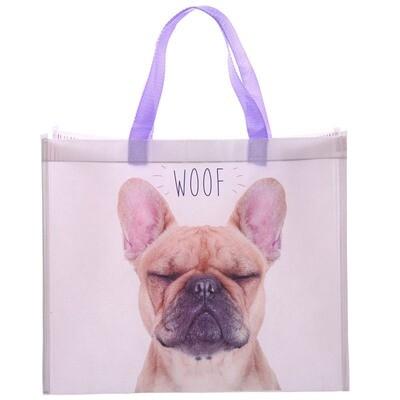 Bolsa Compra Perro Bulldog Francés