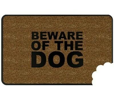 Felpudo Cuidado con el Perro