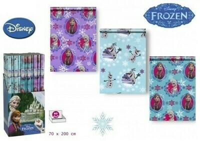 Papel de Regalo Frozen
