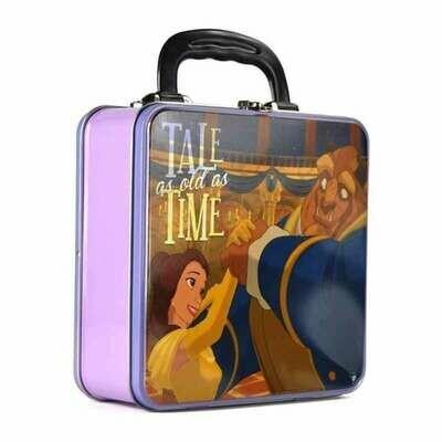 Caja Metálica Disney La Bella Y La Bestia
