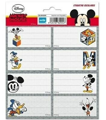 Etiquetas Adhesivas Disney