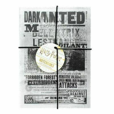 Set 2 Cuadernos A5 Lenticular Harry Potter Dark Arts
