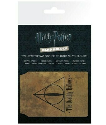 Tarjetero Harry Potter Deatly Hallows