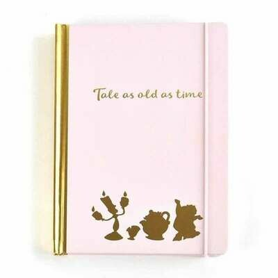 Cuaderno La Bella y La Bestia
