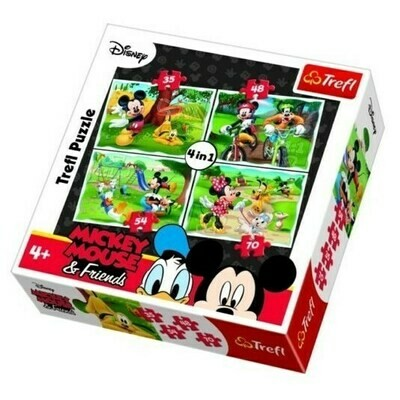 Puzzle Mickey Mouse & Friends