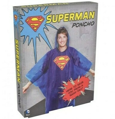 Poncho Superman Dc Comics