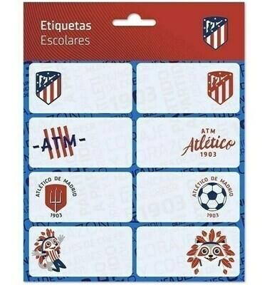 Etiquetas Adhesivas Atlético de Madrid
