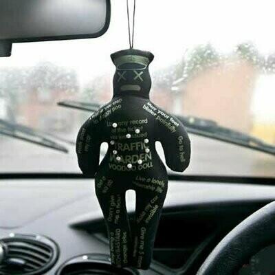 Llavero Vodoo Policía Tráfico