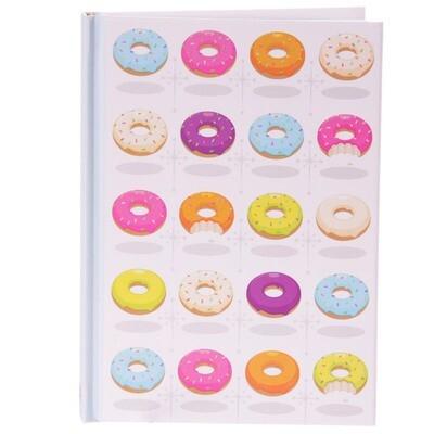 Libreta A6 Donuts