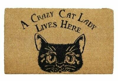 Felpudo La Loca de los Gatos